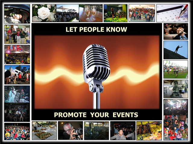 Promoting your Event slideshow